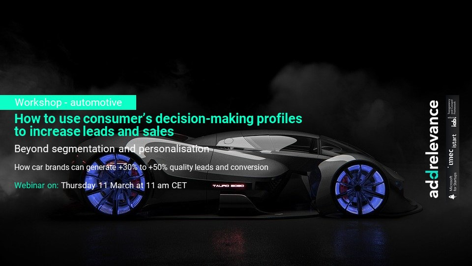 automotive | digital advertising personalisation